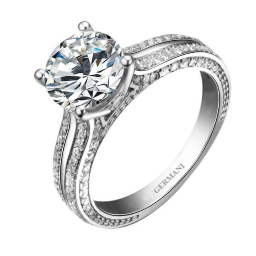 Solitaire-Round-Brilliant-Cut-Diamond-with-Double-Raw-Pave-Band-Engagement-Ring_meitu_1