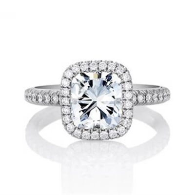 Michel Germani's Cushion Cut Diamond Engagement Ring Sydney - Germani Jewellery