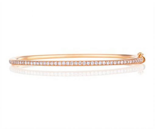 Michel Germani's rose gold diamond bangle - Germani Jewellery