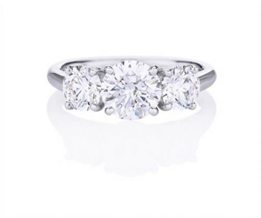 Michel Germani's Trio round diamond engagement ring sydney - Germani Jewellery