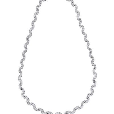 Eternity Diamond Necklace - Germani Jewellery
