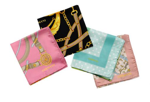 Germani Pure Silk Scarf Made in Italy - Germani Jewellery