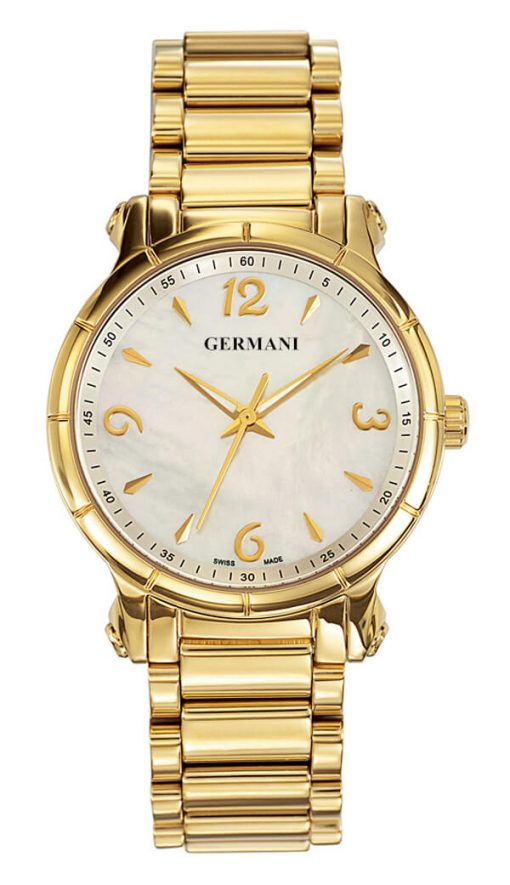 Gold plated quartz men's watches - Germani Jewellery