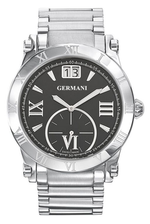 Black face men's watches - Germani Jewellery