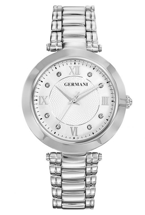 diamonds and quartz ladies watch - Germani Jewellery