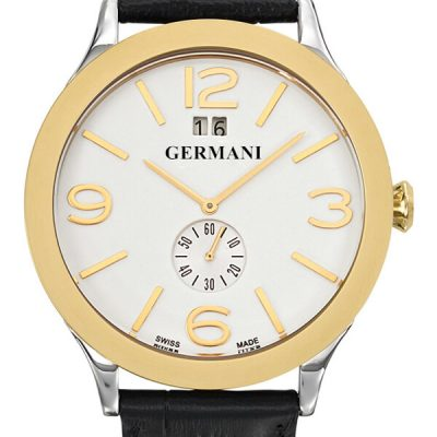 Two tone leather Men's watches - Germani Jewellery