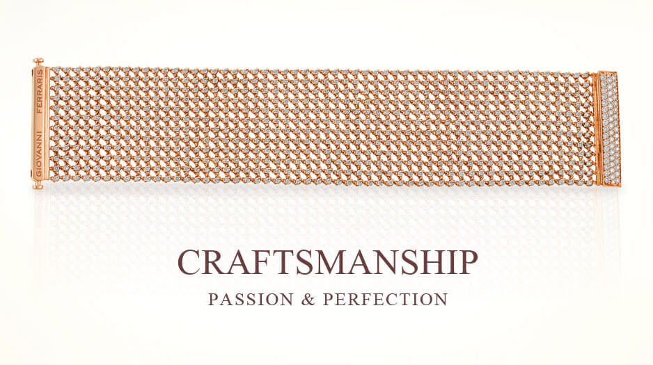 rose gold diamond bracelet - Germani Jewellery