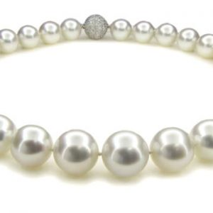 White South Sea Pearl Necklace - Germani Jewellery