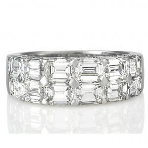 Emerald Cut Diamond Ring - Germani Jewellery