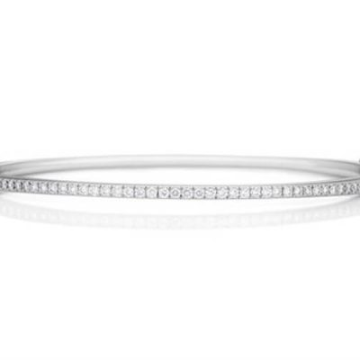 Michel Germani's diamond bangle - Germani Jewellery
