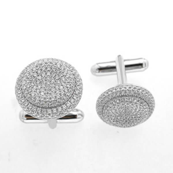 sterling silver cufflinks for men - Germani Jewellery