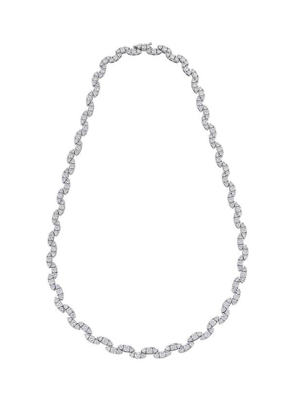 Eternity Diamond Necklace - Germani Jewellery