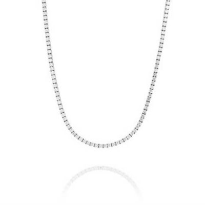 Eternity Line Diamond Necklace - Germani Jewellery