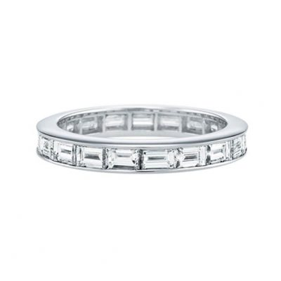 Baguette Diamond Eternity Ring for Ladies - Germani Jewellery