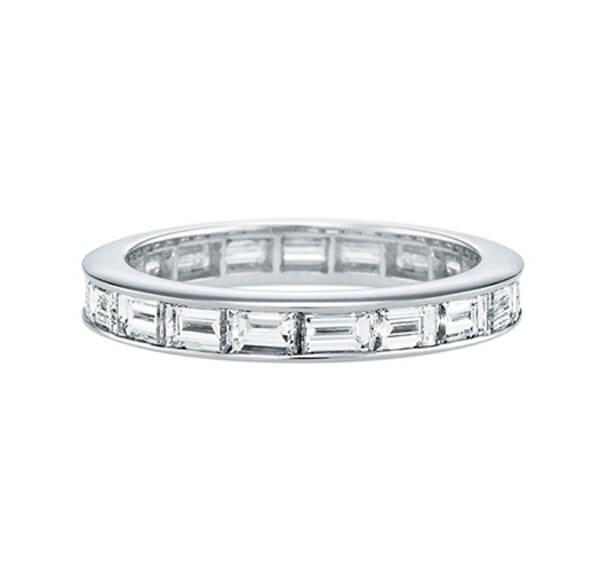 Baguette Diamond Eternity Ring for Ladies - Germani Jewellery