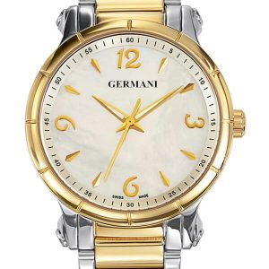 Two tone quartz ladies watch - Germani Jewellery