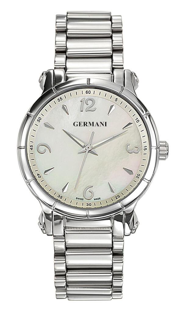 white face quartz ladies watch - Germani Jewellery