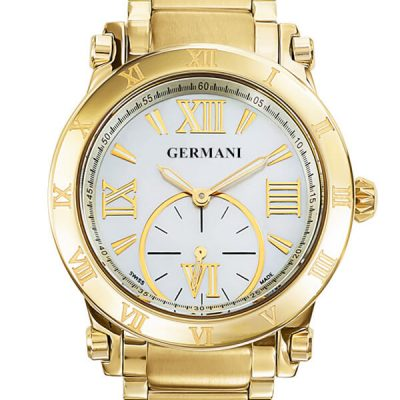 Swiss Made Yellow Gold Men's Watches - Germani Jewellery