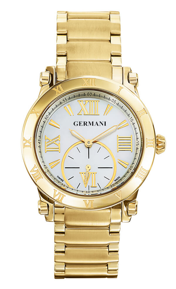 Swiss Made Yellow Gold Men's Watches - Germani Jewellery