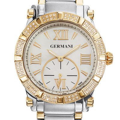Yellow Gold Swiss Made Watches - Germani Jewellery