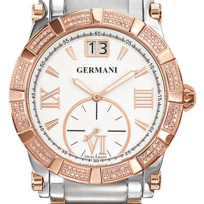 Rose Gold Diamond Men's Watches - Germani Jewellery
