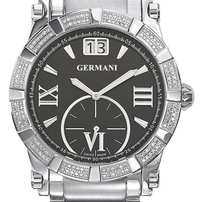 Diamond Black Face Men's watches - Germani Jewellery