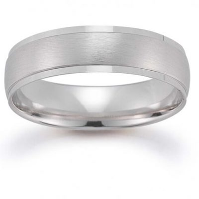 Men's Wedding Band White Gold by Germani - Germani Jewellery