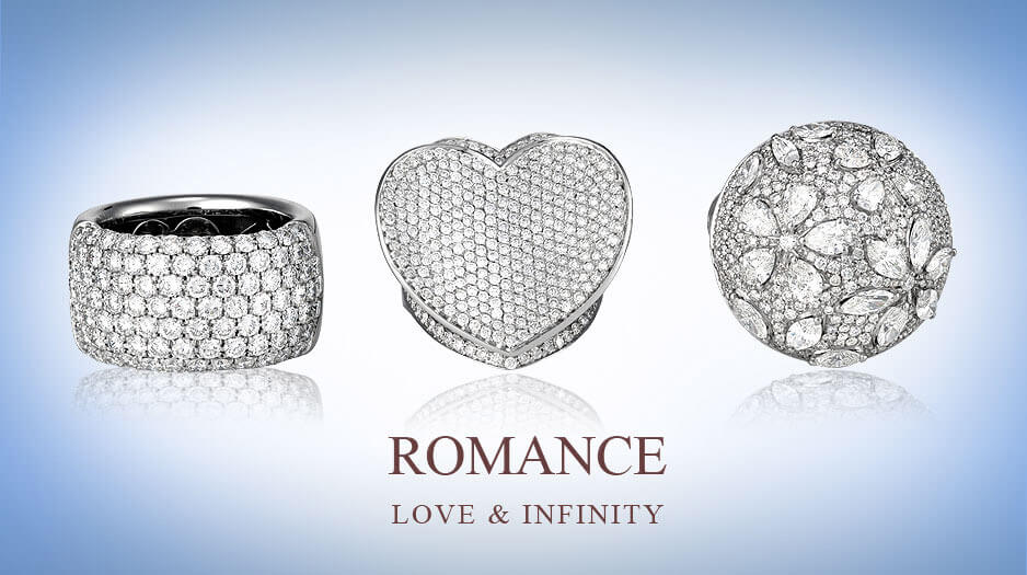 Diamond wedding rings - Germani Jewellery
