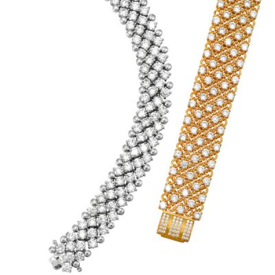 Custom Made Diamond Bracelet - Germani Jewellery