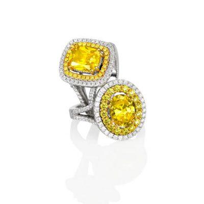 Yellow Diamond Rings by Germani Jewellery - Germani Jewellery
