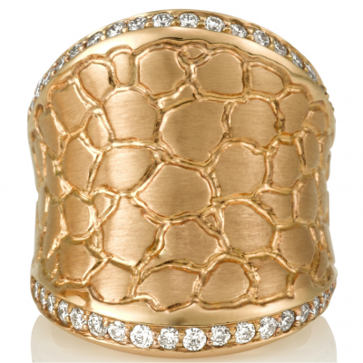Hellmuth Wide Ring - Germani Jewellery