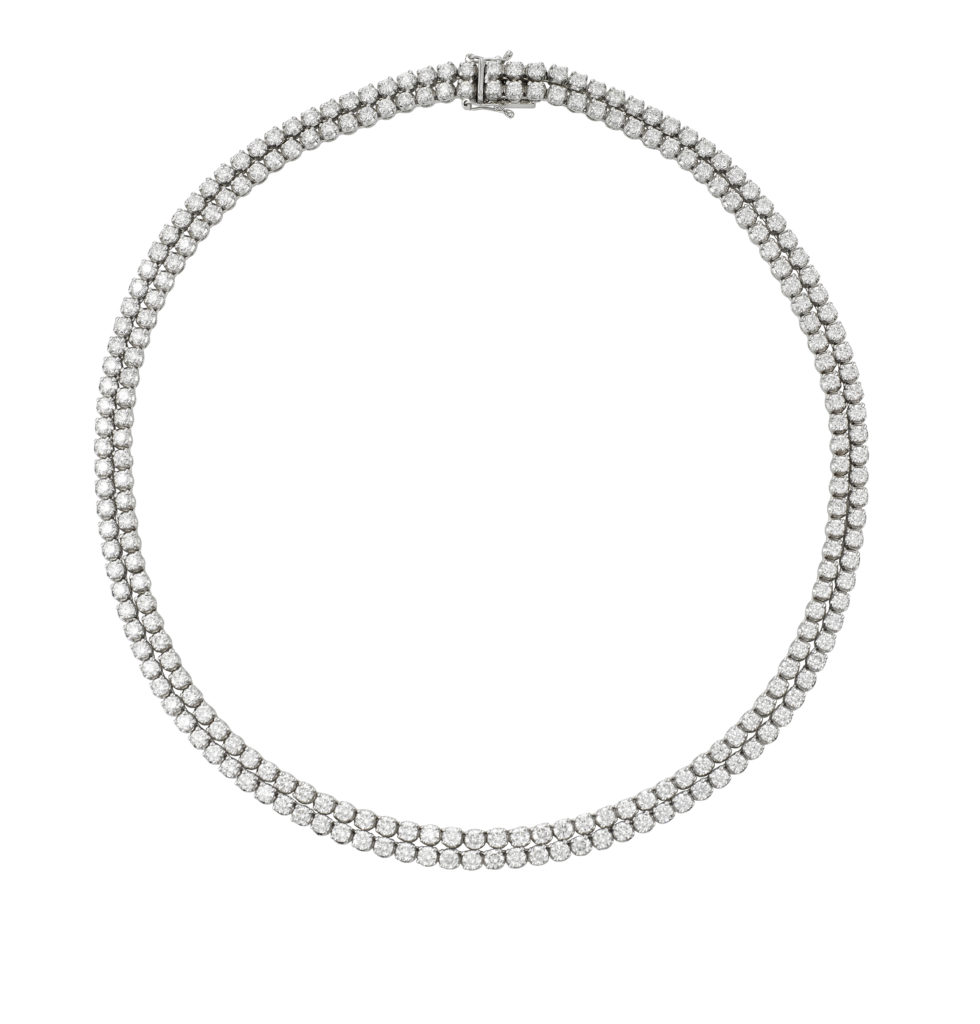 Intricate Diamond Necklace Sydney Germani Jewellery